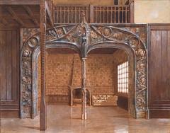 """Projet de """"Porte de Parsifal"""" pour Winnaretta Singer (musée d'Orsay, Paris) (dalbera) Tags: dalbera paris france muséedorsay eugènegrasset jeancarriès winnarettasinger portedeparsifal artnouveau"""