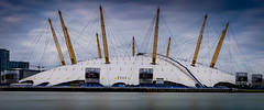 Suspended... (Aleem Yousaf) Tags: suspended city london morning grey se14 light sunrise long exposure docklands classic design architecture world happy camera digital nikon nikkor 70200mm d850 theo2 neutral density filter lee building londonist londoner londontown londonbylondoners outdoor cityscape timeoutlondon sky clouds drag