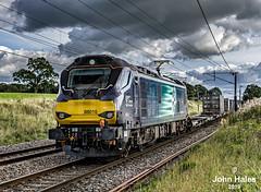 88010 at Garstang on 07 Sep 19 (John_Hales) Tags: preston station rail railway train trains bayhorse tebay oxenholme drs leyland class88 networkrail cumbria lancashire lancaster carlisle broughton brock beckfoot