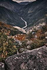 The Andes (Sony J Thomas) Tags: river landscape peru andes mountains