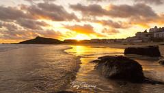 Porthmeor Beach, St Ives (tonysemmens) Tags: sea seashore lowtide stives cornwall kernow lovecornwall coastal nikond7000 sigma1750mm tate gallery