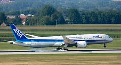 B787 | JA872A | MUC | 20190824 (Wally.H) Tags: boeing 787 boeing787 b787 ja872a ana allnipponairways airjapan muc eddm münchen airport