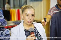 Mme. la Ministre de l'Industrie et des Mines (tayalspa) Tags: mdipi ministre industrie mines algérie tayal textile