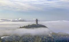 The Wallace Monument (Giovanni Giannandrea) Tags: landmark september2019 fog mist scottish scotland causewayhead victoriangothic stirling tower wallacemonumnet nationatrustofscotland wallace150