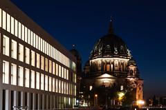 Humboldt Forum and Berlin Cathedral aka Berliner Dom (socialwebforscher) Tags: berlin canon1635mmf28liii dom grosstadt humboldtforum menschen mitte sehenswürdigkeit sonyalpha7m3 strasenleben verkehr