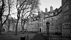 St Salvator's Hall︱University of St Andrews (Valantis Antoniades) Tags: st andrews scotland university salvators hall monochrome black white architecture
