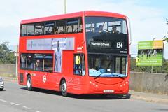 YJ19 HVC (OME2652) Metroline London (hotspur_star) Tags: londontransport londonbuses londonbus londonbuses2019 optaremetrodecker electricbus tfl transportforlondon busscene2019 doubledeck metrolinelondon yj19hvc ome2652 134