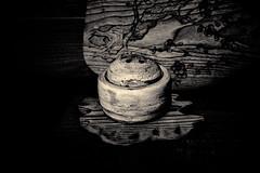 Encensoir à coils motif d'ume