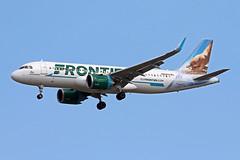 A320.N352FR (Airliners) Tags: frontier frontierairlines 320 a320 a320neo a320251n a320251neo airbus airbus320 airbusa320neo airbusa320251n jaguarundi riothejaguarundi iad n352fr 9719
