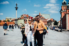 In the moment (ewitsoe) Tags: city cityscape ewitsoe moments nikond750 poalnd sigmaart35mm spring street warszawa erikwitsoe erikwitsoecom everydaylife urban warsaw selfie stick tourists fun life havingfun