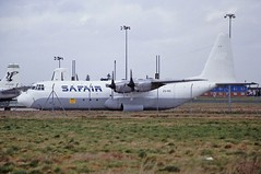 ZS-RSI L. Hercules Safair CVT 12-02-95 (cvtperson) Tags: zsrsi l hercules safair coventry airport cvt egbe