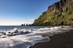 A land of legends. (lawrencecornell25) Tags: landscape waterscape blackbeach beach reynisdrangar vik iceland southerniceland travel adventure outdoors scenery scenic reynisfjall nikond850 nature