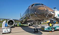 PR-ZIQ - Embraer 190-400STD - ZIA (Seán Noel O'Connell) Tags: prziq embraer 190400std e295 zhukovskyairfield zia uubw airshow maks2019 aviation avgeek aviationphotography planespotting e2