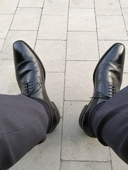 At a wedding 4 (Adam11051983) Tags: black derby dress footwear formal lace leather men mens shoe shoes