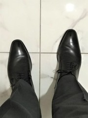 At a wedding 1 (Adam11051983) Tags: black derby dress footwear formal lace leather men mens shoe shoes