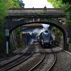 usa 9295 (m.c.g.owen) Tags: torbay express union south africa a4 bath september 6th 2019 uk steam locomotives lner british railways somerset sydney gardens pacific gresley london north eastern railway 60009