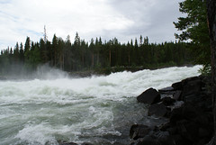 (helena.e) Tags: helenae semester vacation holiday älsa husbil rv motorhome storforsen water vatten waterfall vattenfall