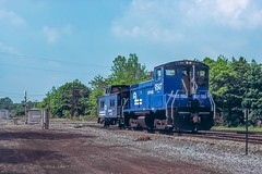 East Penn Caboose Hop (douglilly) Tags: eastpennjunction conrail sw1500