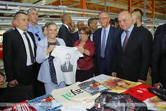 Atelier de Sérigraphie, Centre d'Application TAYAL (tayalspa) Tags: mdipi ministre industrie mines algérie tayal textile
