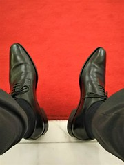 At a wedding 5 (Adam11051983) Tags: black derby dress footwear formal lace leather men mens shoe shoes