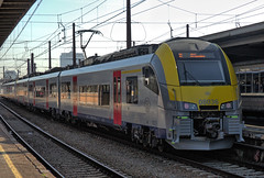 SNCB electric multiple unit set No. 08036 at Brussels Midi Station on 22 August 2019 (Trains and trams eveywhere) Tags: sncb belgium benelux railways trains brussels station passengertrain bruxelles bruxellescentral brusselcentraal emu electricmultipleunit