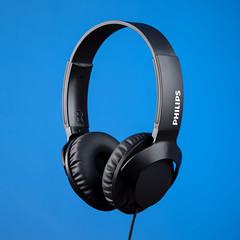 Philips Headphones SHL3075BK (Glennskitchen) Tags: philips headphones shl3075bk nikon d750 product art blue gel stil life creative tamron 70200mm g2