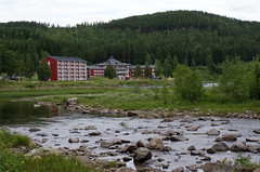 hotel (helena.e) Tags: helenae semester vacation holiday älsa husbil rv motorhome storforsen water vatten waterfall vattenfall