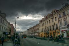 Warsaw before the rain (Carlos M. M.) Tags: warsaw varsovia poland polonia hdr sony sonyalpha6000 nubes clouds