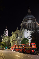 London Icons (gooey_lewy) Tags: time line events bus charter neil cave london double decker rt regent aec rm routemaster red night dark shoot rml3 slt58 iii rtl554 rtl 554 rm857 857 wlt857 453 rtl453 klb648 jxc194 rt1451 1451 jxc 194 st pauls cathedral wren up icon hand held
