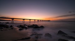 Sunrise: Pont del Petroli / Oil bridge (carlosk75LM) Tags: flickrunitedaward