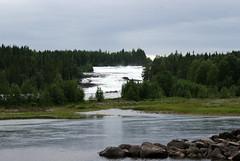 waterfall (helena.e) Tags: helenae semester vacation holiday älsa husbil rv motorhome storforsen water vatten waterfall vattenfall