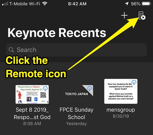 Keynote for iOS Remote Icon by Wesley Fryer, on Flickr