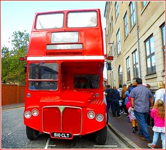 """Vintage  """"Routemaster"""" Bus .. (** Janets Photos **) Tags: uk hull citycentres localevents museums vintagebuses opendeckedbuses routemasterbuses londontransport aecbuses"""