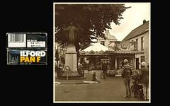 Village fair (erwinruys) Tags: linhof rodenstock ilfordpanf technikar cuijk
