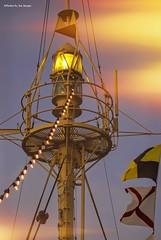 Crow's nest....HSS!!! (Joe Hengel) Tags: crowsnest lowerslowerdelaware lsd lewesde lewes delaware de sussexcounty overfalls lightshipoverfalls lightship light flags lights texture hss slidersunday happyslidersunday sunday slider ship