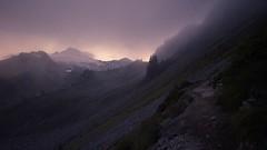 Baker (bombeeney) Tags: pnw washington ptarmiganridge hiking astrophotography clouds fog mist stars night mybaker