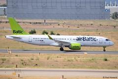 2019-06-23 MAD YL-CSF (Paul-H100) Tags: 20190623 mad ylcsf bombardier c series 300 cs300 air baltic a220 airbus