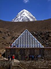 Pumori, Nepal (The Two Doctors) Tags: mountaineering mountains trekking lobuche pumori himalaya nepal