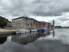 Exeter Canal Basin (ExeDave) Tags: p1210259 exeter canal basin quayside quay haven banks road devon sw england gb uk buildings warehouses waterscape landscape city waterside topshambrewery taproom september 2019