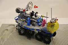 Mobile Rocket Transport 2.0 (LegoSpark) Tags: lego moc legos classic space rover benny spaceship