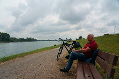 Biketour (Lutz Blohm) Tags: biketour fahrradtour fluskilometer402 sonyfe24105mmf4goss sonyalpha7aiii speyer rhein rheinufer