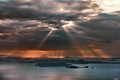 Sky 愛媛 松山市 高輪山 8 16 2019 (tsake123) Tags: sony sky sel2470z sea sunset sun a7 alpha alpha7 japan island c1 captureone cloud coast landscape