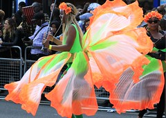 green and orange (Artee62) Tags: canon eos 7d hackney carnival people
