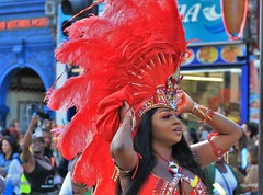 red head (Artee62) Tags: canon eos 7d hackney carnival people