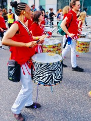 Fresh drummers, at Hackney Carnival (gerrypopplestone) Tags: drummers carnival hackney