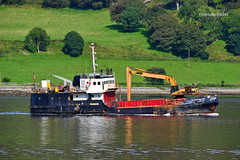 Shearwater (Zak355) Tags: boat riverclyde rothesay isleofbute bute scotland scottish shearwater ship dredger shipping