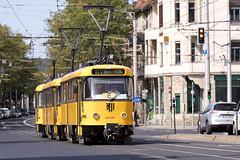 T4D-MT 224 263, Dresden (rengawfalo) Tags: tram tramway dresden tatra t4d sachsen saxony strasenbahn train railroad bahn dvbag tranvia tramvaj ckd elektricka öpnv tramwaj sporvogn road car city urbanrail publictransport 263