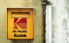 Kodak box (Olsommer JB) Tags: canon canonae1p portra portra160 kodak 50mm filmisnotdead filmphotography film 35mm c41