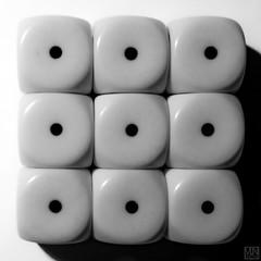 MM -NINE- (MAICN) Tags: square quadratisch nine mono würfel macromondays nahaufnahme bw cubes blackwhite monochrome neun macromonday schwarzweis die makro macro einfarbig 2019 sw mm