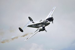 Beechcraft Beech 18 (crazyxavphotos) Tags: airshow gatineau showaerien aviation avgeek aviationgeek military wwii ww2 worldwartwo reenactment aircrafts airpatrol airdefense militaryaircraft planes fighter fighteraircraft airfighter warplane warbird warbirds